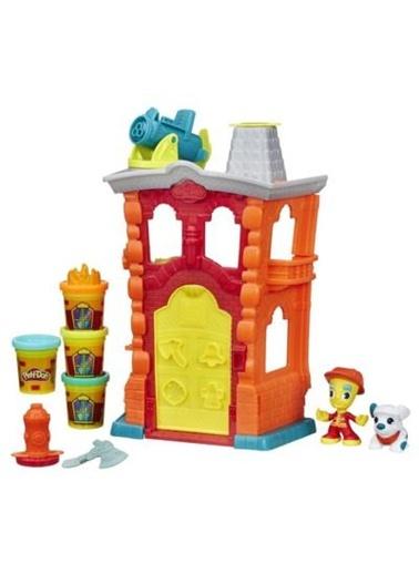 Play Doh Town İtfaiye İstasyonu-Play-Doh